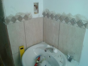 en-suite shower room installation Surrey