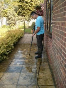 Patio cleaning Godalming, Farncombe