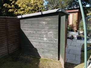 Building a shed Surrey and Hampshire