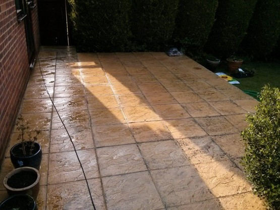 Patio cleaning Woking, Guildford
