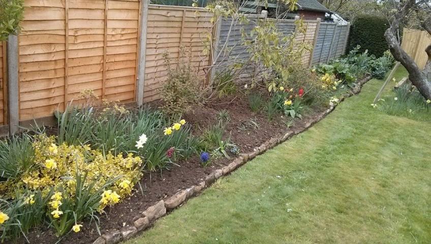 Weeding, planting Godalming