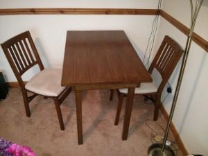 Indoor furniture varnishing Surrey and Hampshire