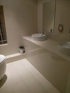 Bathroom tiling Godalming